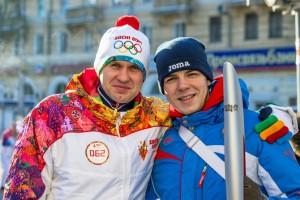 Александр Фёдоров и Пётр Федотов