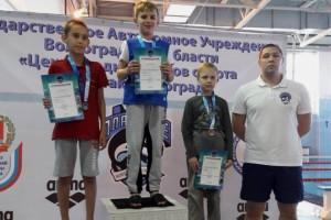 Владимир Лобачёв, Александр Лукин, Илья Трелин и Сергей Перунин (Фото: www.spartak-volgograd.com)